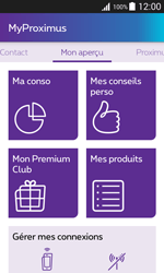 Samsung Galaxy Xcover 3 (G388F) - Applications - MyProximus - Étape 13