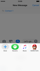 Apple iPhone SE - iOS 10 - iOS features - Send iMessage - Step 21