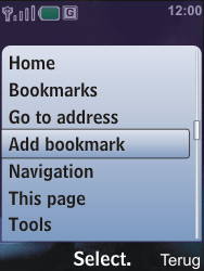Nokia 6600i slide - Internet - Internet browsing - Step 6