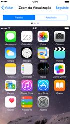 Apple iPhone iOS 8 - Primeiros passos - Como ativar seu aparelho - Etapa 25