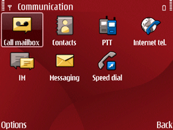 Nokia E63 - Voicemail - Manual configuration - Step 4