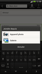 HTC One S - Contact, Appels, SMS/MMS - Envoyer un MMS - Étape 14