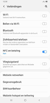 Samsung galaxy-a6-plus-sm-a605fn-ds-android-pie - WiFi - Mobiele hotspot instellen - Stap 5