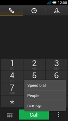 Alcatel OT-5036X Pop C5 - Voicemail - Manual configuration - Step 5