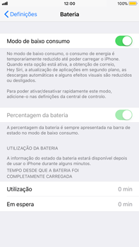 Apple iPhone 8 Plus - Bateria - Como modo de poupança -  6
