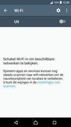 Sony Xperia XA - Android Nougat - WiFi - Handmatig instellen - Stap 5