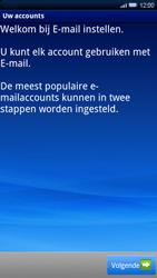 Sony Ericsson Xperia X10 - E-mail - handmatig instellen - Stap 4