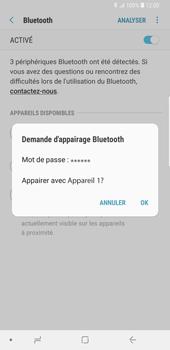 Samsung Galaxy S9 Plus - Internet et connexion - Connexion avec un équipement multimédia via Bluetooth - Étape 9