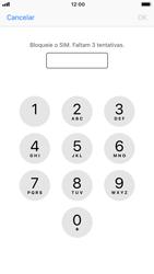 Apple iPhone 6s - iOS 12 - Segurança - Como ativar o código PIN do cartão de telemóvel -  6