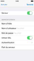Apple iPhone 5c - E-mail - Configuration manuelle - Étape 18