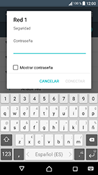 Sony Xperia XA1 - WiFi - Conectarse a una red WiFi - Paso 7