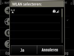 Nokia E6-00 - Wifi - handmatig instellen - Stap 9