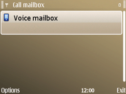 Nokia E72 - Voicemail - Manual configuration - Step 7