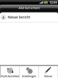 HTC A3333 Wildfire - SMS - handmatig instellen - Stap 5