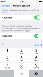 Apple iPhone 5 (iOS 8) - apps - account instellen - stap 17