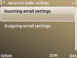 Nokia E72 - E-mail - Manual configuration - Step 22