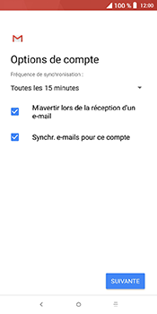 Alcatel 3L - E-mails - Ajouter ou modifier un compte e-mail - Étape 19