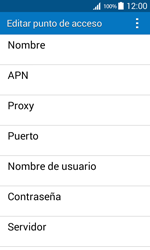 Samsung Galaxy Core Prime - Internet - Configurar Internet - Paso 9