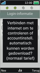 Sony Ericsson U10i Aino - E-mail - Handmatig instellen - Stap 9