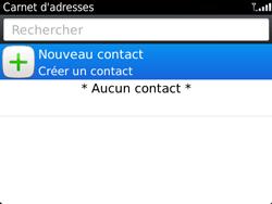 BlackBerry 9720 - Contact, Appels, SMS/MMS - Ajouter un contact - Étape 4