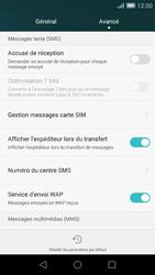Huawei Ascend G7 - SMS - configuration manuelle - Étape 7
