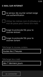 HTC Windows Phone 8X - E-mail - Configuration manuelle - Étape 14