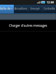 Samsung S5570 Galaxy Mini - E-mail - Configuration manuelle - Étape 4