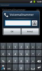 Samsung I9001 Galaxy S Plus - Voicemail - handmatig instellen - Stap 7