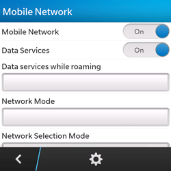 BlackBerry Q5 - Internet - Manual configuration - Step 11
