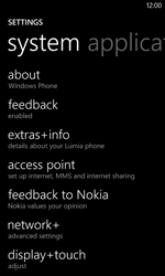 Nokia Lumia 520 - Internet - Manual configuration - Step 8