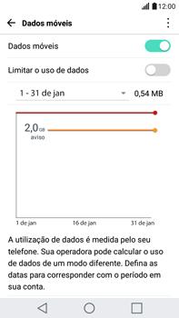 LG G5 Stylus - Rede móvel - Como ativar e desativar uma rede de dados - Etapa 4