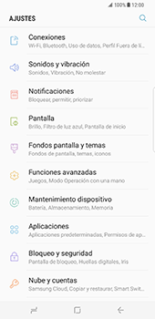 Samsung Galaxy S8 Plus - WiFi - Conectarse a una red WiFi - Paso 4