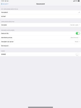 Apple ipad-pro-12-9-inch-2018-model-a1895 - E-mail - Account instellen (POP3 met SMTP-verificatie) - Stap 22