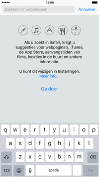 Apple iPhone 6 Plus iOS 10 - Internet - hoe te internetten - Stap 3