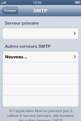 Apple iPhone 4 S - E-mail - Configuration manuelle - Étape 17
