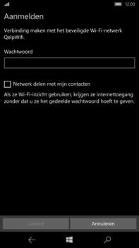 Microsoft Lumia 950 XL - WiFi - Handmatig instellen - Stap 8