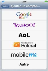 Apple iPhone 4 S - E-mail - Configuration manuelle - Étape 5