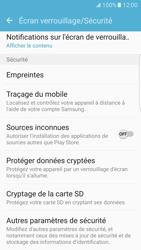 Samsung Galaxy S7 Edge - Sécuriser votre mobile - Personnaliser le code PIN de votre carte SIM - Étape 5