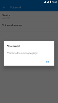 OnePlus 3 - Android Oreo - Voicemail - Handmatig instellen - Stap 12