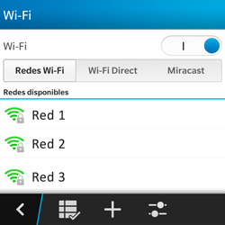 BlackBerry Q5 - WiFi - Conectarse a una red WiFi - Paso 7