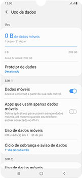 Samsung Galaxy A50 - Internet (APN) - Como configurar a internet do seu aparelho (APN Nextel) - Etapa 6