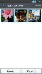 LG Optimus F6 - Photos, vidéos, musique - Envoyer une photo via Bluetooth - Étape 7