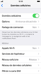 Apple iPhone SE - iOS 12 - Internet - activer ou désactiver - Étape 4