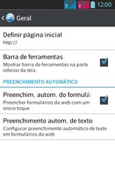 LG Optimus L5 Dual - Internet - Como configurar seu celular para navegar através de Vivo Internet - Etapa 28