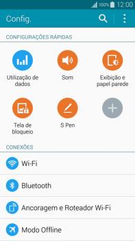 Samsung N910F Galaxy Note 4 - Wi-Fi - Como configurar uma rede wi fi - Etapa 4