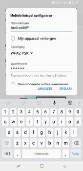 Samsung galaxy-a6-plus-sm-a605fn-ds - WiFi - Mobiele hotspot instellen - Stap 9