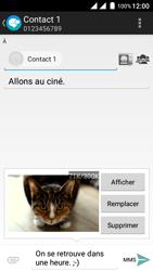 Wiko Freddy - Contact, Appels, SMS/MMS - Envoyer un MMS - Étape 18