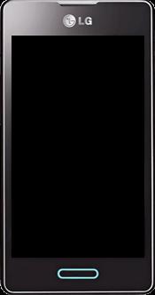 LG Optimus L5 II - Premiers pas - Découvrir les touches principales - Étape 2