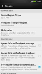 HTC One - Sécuriser votre mobile - Activer le code de verrouillage - Étape 12