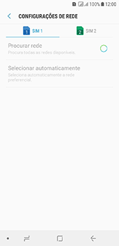 Samsung Galaxy J6 - Rede móvel - Como selecionar o tipo de rede adequada - Etapa 10